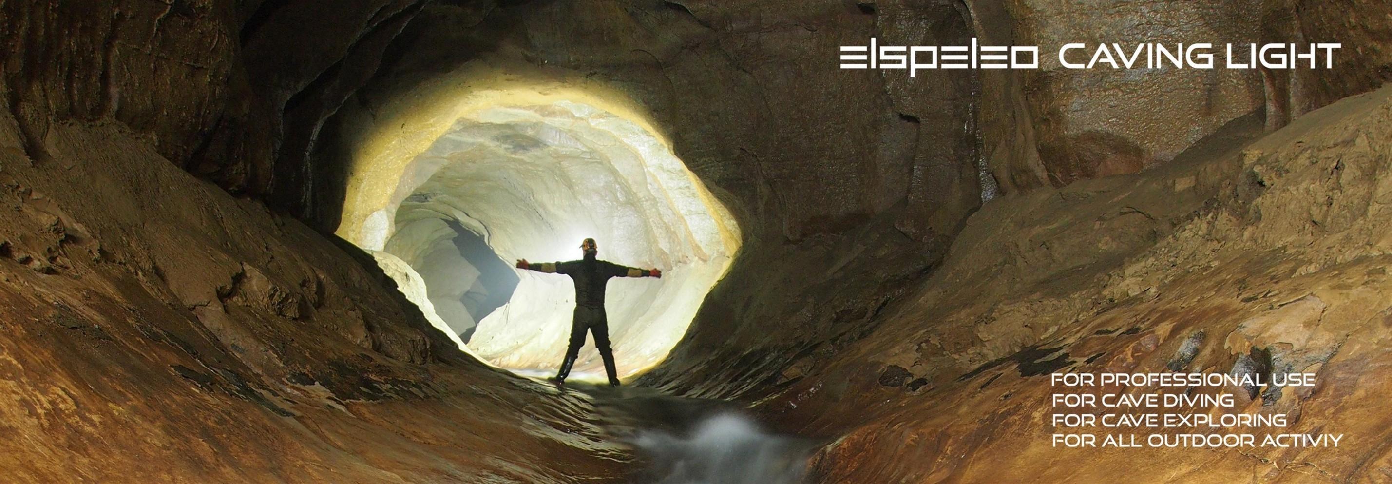 ELSPELEO caving lights