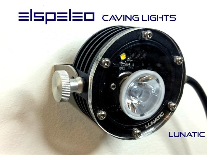 elspeleo lunatic caving light