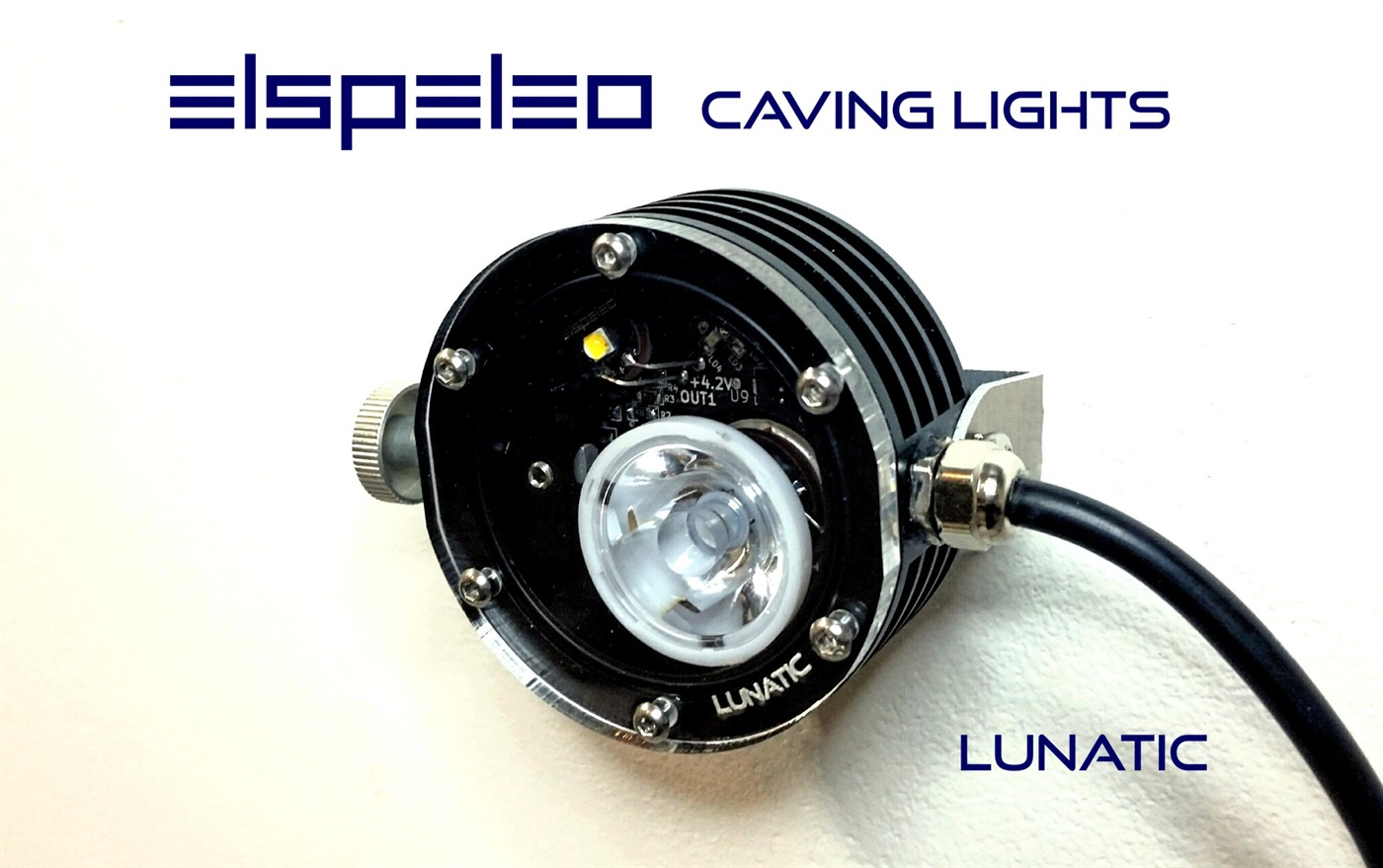 LUNATIC - tech diving / caving light
