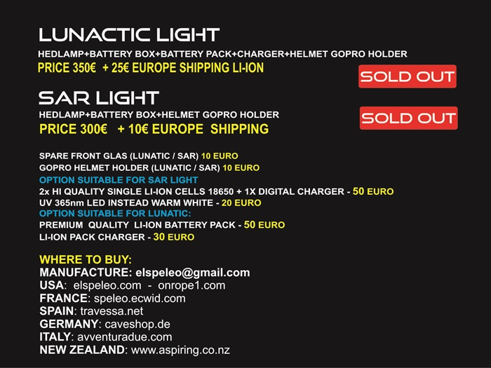 PRICE LIST and accessories